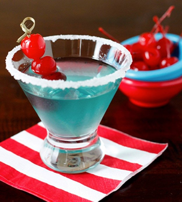 Uncle Sam-Tini | 25 Ways To Have The Most Patriotic 4th Of July Party