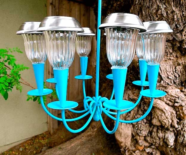 DIY Solar Powered Chandelier | Cool Solar Powered Inventions