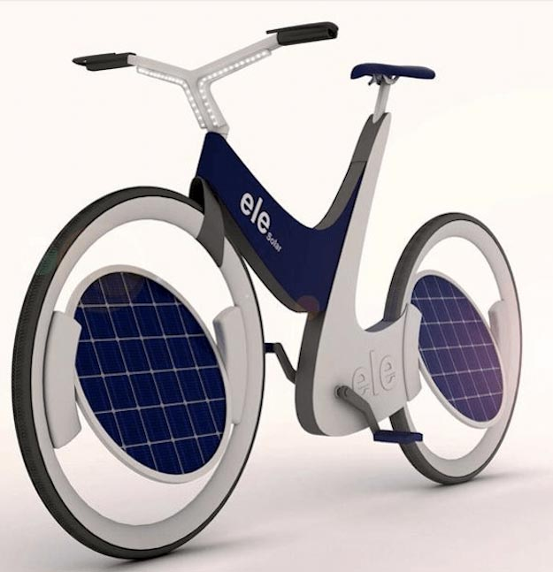 Solar Bike | Cool Solar Powered Inventions