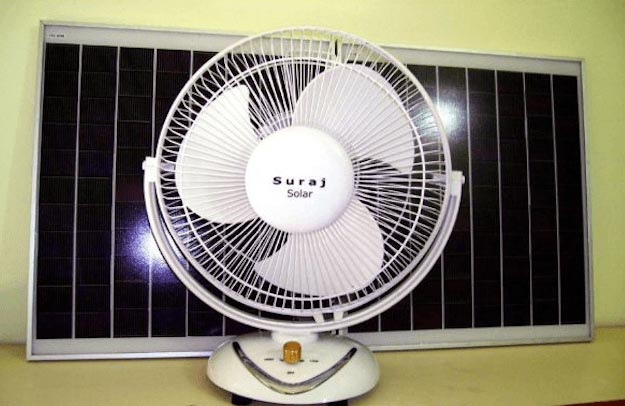 Solar Power Fan | Cool Solar Powered Inventions