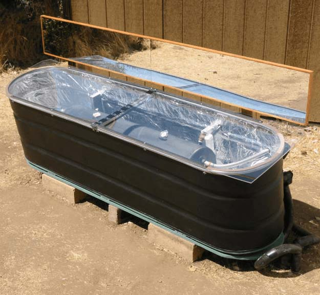 Solar Water Heater | Cool Solar Powered Inventions