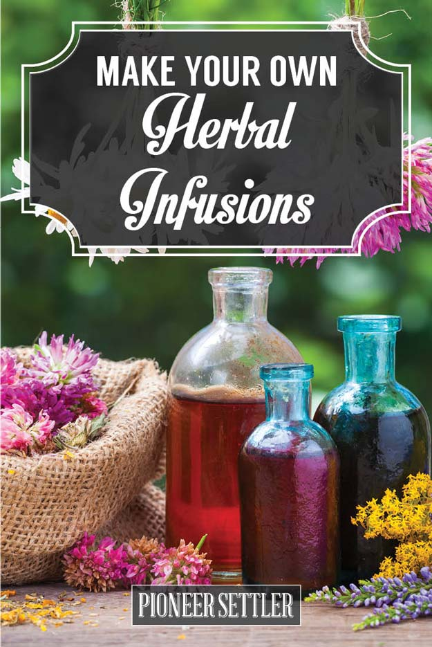 How To Make Herbal Infusions | Herbal Remedies