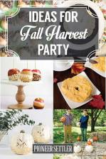 Ideas for Fall Harvest Party