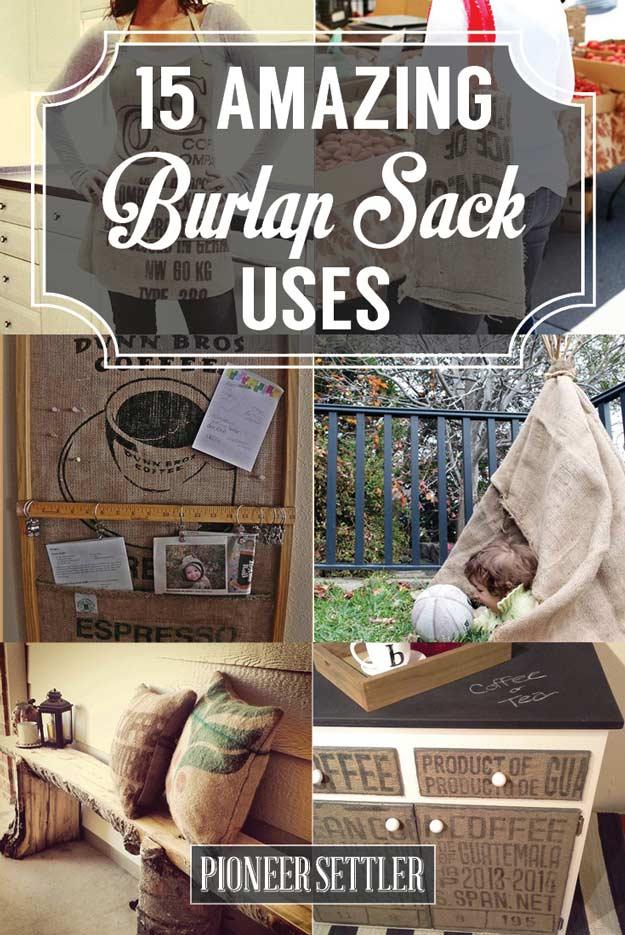 15 Burlap Sack Uses Not Just A Bag Of Potatoes