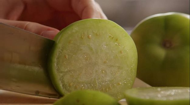 Step 1   Fried Green Tomatoes - Make this Classic Homestead Snack