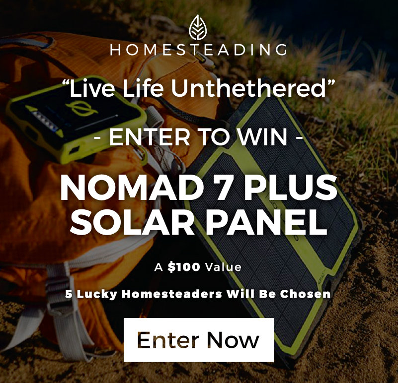 Click Here To Enter To Win a Nomad 7 PLUS Solar Panel!